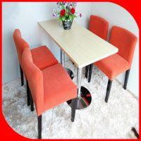 餐厅家具 欧式西餐厅咖啡厅桌椅 实木餐桌椅组合