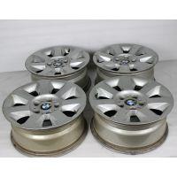 老款宝马520原厂原装16寸二手铝合金轮毂/钢圈/胎铃;可翻新修复