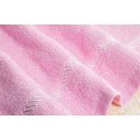 菲苒面巾厂家直销,A类非染色木纤维竹纤维创意毛巾印字加工;34*74cm,110克