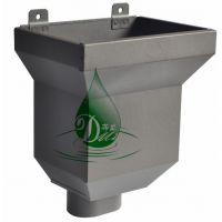 山东蒂美DMI金属K型天沟 金属雨水管规格 厂家供应济南地区