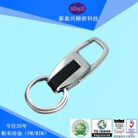 金属钥匙扣创意配件 男女士商务真皮汽车钥匙链 汽车钥匙扣