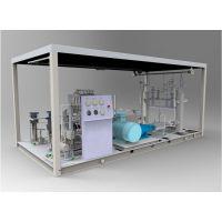 合建站柱塞泵撬生产