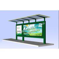 兴科广告设备专业定制加工阿勒泰地区不锈钢公交站台 换画滚动灯箱