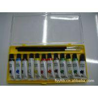 【厂家直销】水彩塑料盒/10色/12色纸盒来样定做价格优惠低价批发