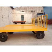 按要求定做 行李拖车平板车 平板拖车 鑫升厂家销售