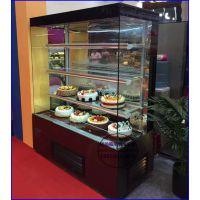 新乡带夜帘的直角蛋糕柜价格 开放式直角三明治柜 佳伯风冷蛋糕柜定做