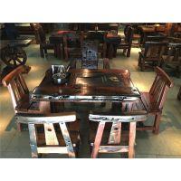 传家供应船木家具客厅茶几,船木功夫茶几茶桌椅组合,阳台小茶台现货