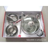 供应促销礼品套装/家庭厨具礼品/锅碗勺筷组合礼包