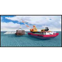 中海油单点系泊监测系统三维动画 海洋采油系统动画 监控系统三维动画