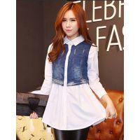 韩版连衣裙蕾丝衫和雪纺衫到货啦需要为新季节铺货的客户这边看低价批发