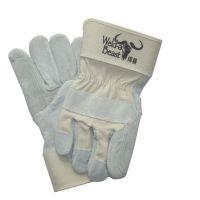 供应焊兽焊工手套/电焊手套/劳保手套/全皮/牛皮手套进口布料