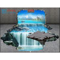上海3D墙绘制作 3D立体画制作 3D立体画公司