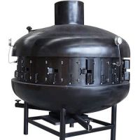 宝利源烤鱼炉生产厂家烤全羊炉烤羊腿炉油烟净化车