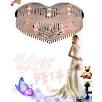 新款 吸顶灯水晶灯 卧室客厅餐厅儿童房LED现代简约灯饰灯具批发