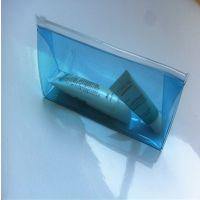 深圳厂家直销PVC透明拉链袋 PVC化妆品包装袋 可印刷LOGO