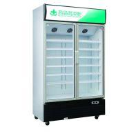 连锁药店专用对开门药品阴凉柜 718L 700L 恒温恒湿药品柜