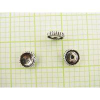DIY泰银三通配件加工生产批发 珠宝首饰来图来样加工定制工厂