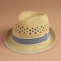 春夏出口外贸原单H*专柜男女儿童宝宝婴儿渔夫帽遮太阳帽子盆草帽