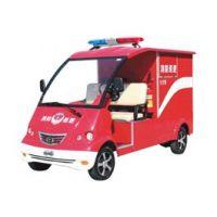 河北供应带水箱2人座电动消防车欧洁DVXF-3