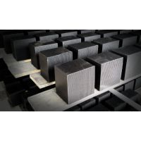 北京蜂窝活性炭吸附剂 防水蜂窝活性炭 压块蜂窝活性炭