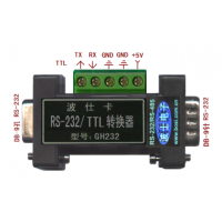 有源光隔 RS-232/TTL 电平转换器