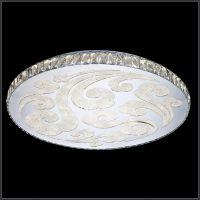 现代简约卧室温馨圆形吸顶灯 k9水晶led时尚客厅餐厅吸顶灯 卡骐灯饰照明