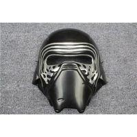 供应新款星球大战面具 黑兵面具 维达面具 黑武士面具 黑色面具