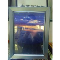 鸡西钧道厂家销售2.5黑色58*88电梯海报框|铝合金材质户外广告旗杆