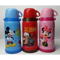 厂家批发迪士尼保温杯米奇卡通儿童保温杯男女士水杯礼品杯刻字