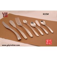 供应【优质供应】高档不锈钢餐具刀叉,出口西餐刀叉勺,欧美品质刀叉Y268系列