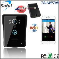 Saful新款夜视自动录像移动侦测报警wifi无线可视对讲门铃TS-IWP708