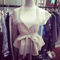 2015春装新款小银子短袖背心上衣两件套 厂家直销B