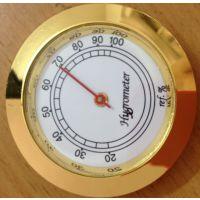 供43mm一般空气指针式机械式圆形温度计表57mm雪茄盒保湿器