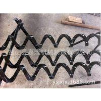 嘉隆厂家直供环保机械专用螺旋杆 200-48-200排屑螺旋叶片