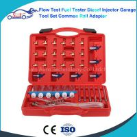 Flow Test Fuel Tester Diesel Injector Garage Tool Set Common Rail Adapter for AUTO FUEL INJECTOR FLOW METER TEST