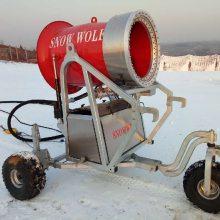 人工造雪机-炮式造雪机胆子大不怕太阳