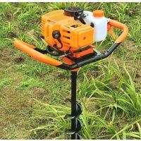 大成牌全环绕植树钻孔机 2冲程汽油动力挖坑机