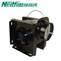 河南郑州绿岛风分体管道式换气扇DPT10-11-25S全金属制造防腐耐用小体积便于安装压损小噪音小低
