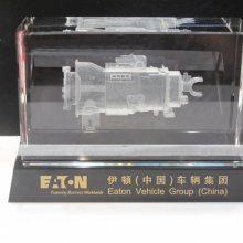 上海开业礼品,上海水晶内雕工艺品,内雕大楼模型摆件,上海庆典活动摆件
