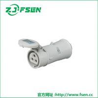 富森供应低压工业插头插座连接器插座箱检修箱电源箱