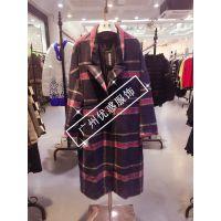 高端大码女冬装瑞贝尔大衣棉衣大件杭州品牌折扣批发库存走份特价