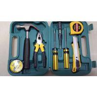 厂家直销家用车用组合工具套装保险礼品9件套工具箱五金工具礼品