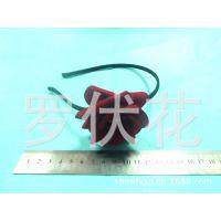 厂家直销小红玫瑰花包布五金发箍,包布塑胶发箍,儿童头箍,发圈