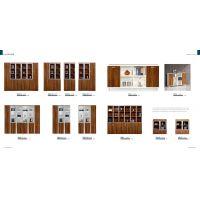 潍坊凯利隆系统家具供应办公书柜文件柜书橱胶板文件柜