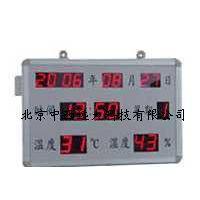 RS485温湿度显示屏含温湿度叠加器型号:ZX7M-时间温湿度 年月日同一屏显示库号:M401732