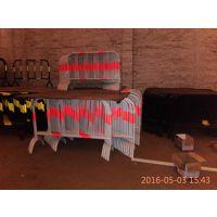 铁马栅栏、隔离栏哪里便宜?移动护栏、黄黑、红白常规大量现货1*1.5米一个38外管19内管