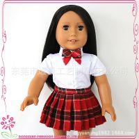 厂家直销18寸娃娃 搪胶公仔创意玩具定制