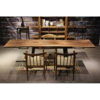 家有名木供应原生态艺术大板北美黑胡桃餐桌书桌茶桌办公桌会议桌个性家具装修必备