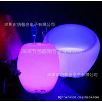 厂家供应滚塑led沙发 遥控发光沙发 客厅茶几 充电发光圆桌灯