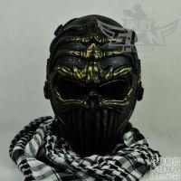 我是特种兵 DC07恐怖脊柱骷髅面罩 GHOST使命召唤野战防护面具面